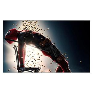 Deadpool. Размер: 50 х 30 см